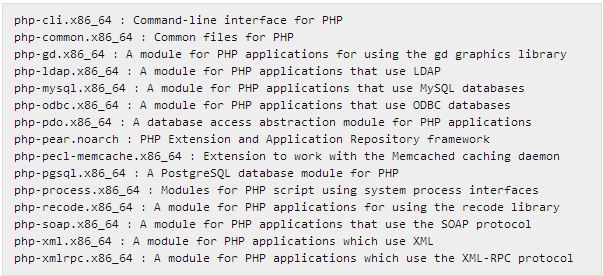 php-modules