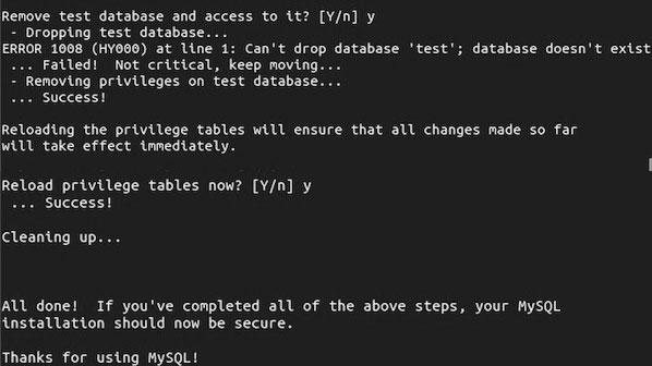 безопасность сервера базы данных