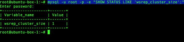 загрузка кластера базы данных