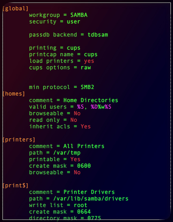 protocole smb2