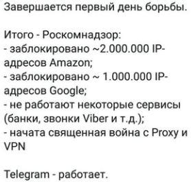 блокировка Amazon в России